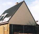 Drewniany dom obłożony plastikiem – Kolno 2005