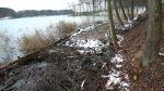 Powiększanie działek – zasypywanie jeziora Nidzkiego 2008