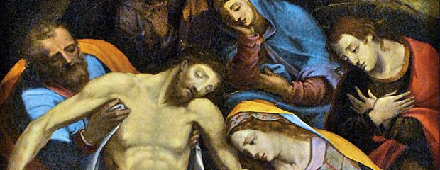 Złożenie do grobu Muziano Fot. R. Lewandowski