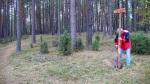Sowiróg – ustawianie znaku kierującego na cmentarz