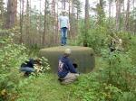 Wolisko Duże – zachowane pozostałości umocnień z czasów II wojny