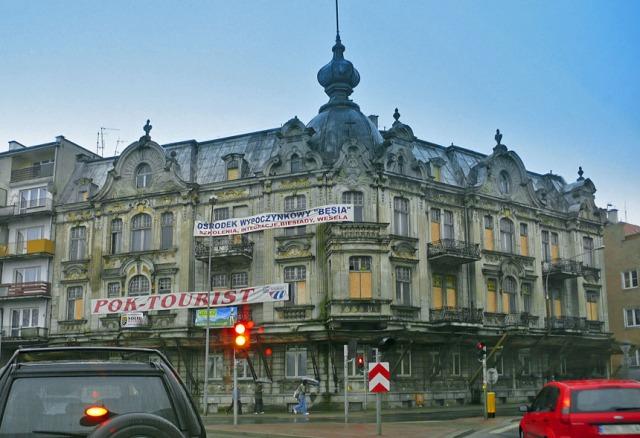 Olsztyn, kamienica przy Bema. Fot. K.Worobiec