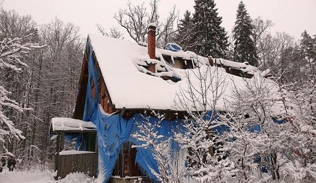 Leśniczówka Zdróżno, styczeń 2010 r. Fot. K. A. Worobiec.