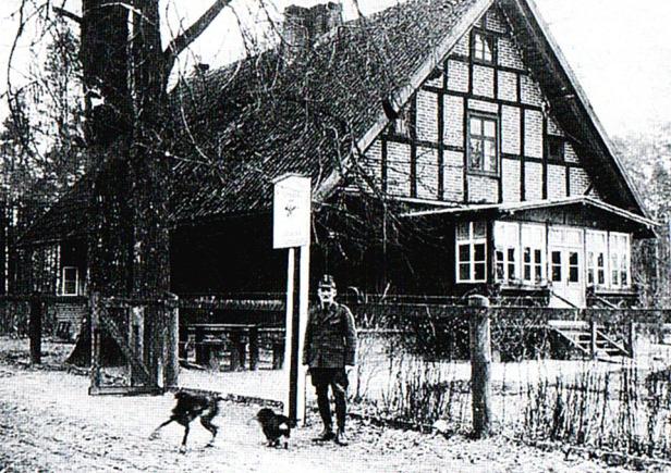 Leśniczówka Zdróżno stan przed II wojną.