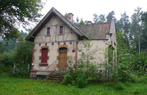 Tak wyglądała willa przy ulicy Leśnej w 2006 roku. Fot. K.A.Worobiec