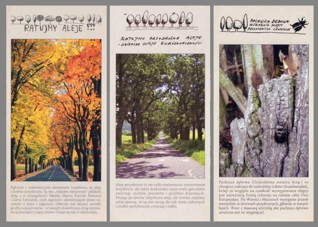 W ramach akcji wydane zostały foldery w łącznym nakładzie ponad 20 tys. egzemplarzy.